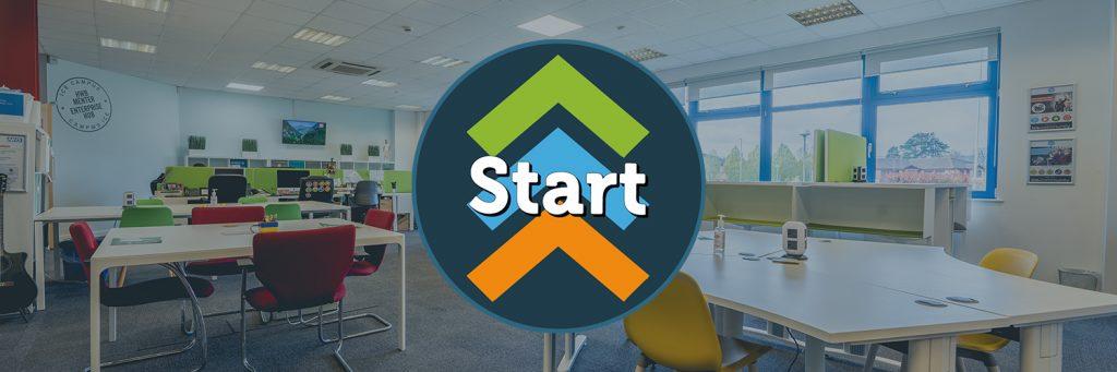 The ICE Start Logo