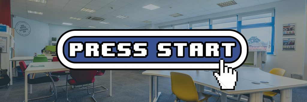 The Press Start logo